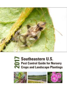 Cover photo for 2017 Nursery and Landscape Pest Control Guide